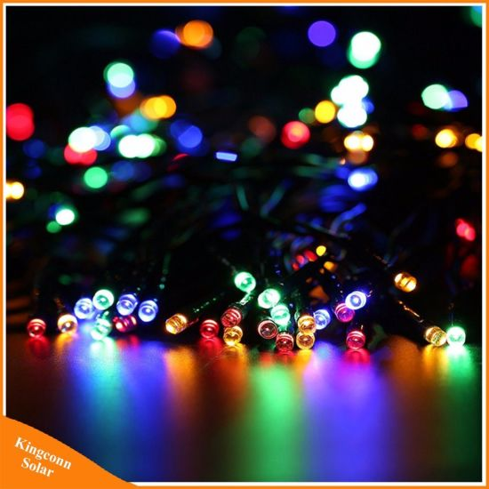 China solar lamps led string fairy lights garland solar light for solar lamps led string fairy lights garland solar light for wedding garden party decoration outdoor light aloadofball Images