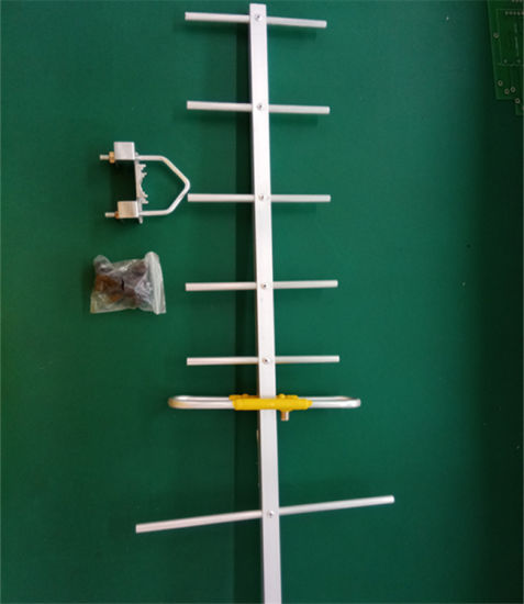 High Gain UHF Outdoor Yagi Digital TV DVB-T Antenna Working Good Outdoor 7 Element pictures & photos