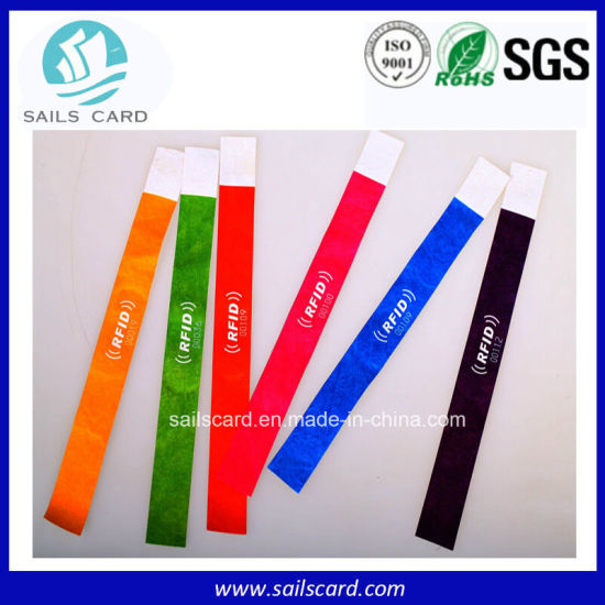 Hot Sale Best Price Printed Tyvek/Paper Wristband for Events/Club/Party pictures & photos