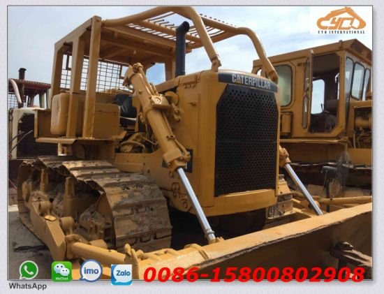 Used Cat Bulldozer D7g Bulldozer with Winch for Sale