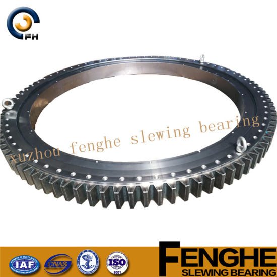 Double-Row Ball Slewing Bearing - Internal Gear pictures & photos