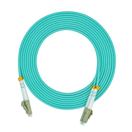 20m LC-LC Duplex 50//125 Multimode 10 Gb Fiber Patch Cable Aqua om3-32875