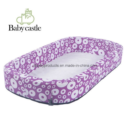 Comfortable Soft Cotton Infant Baby Kids Children Crib No Pillow with Ce