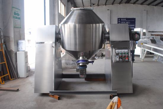 Mix Equipment for Powder (conical blender) & Feed Mixer Machine (double cone blender) pictures & photos