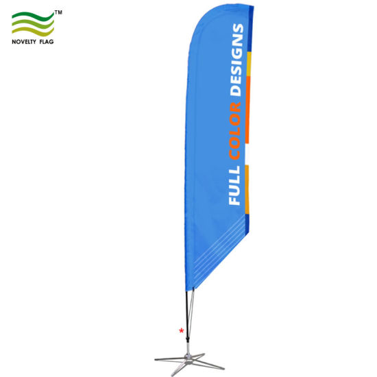 China Screen or Digital Printing Custom Feather Banners