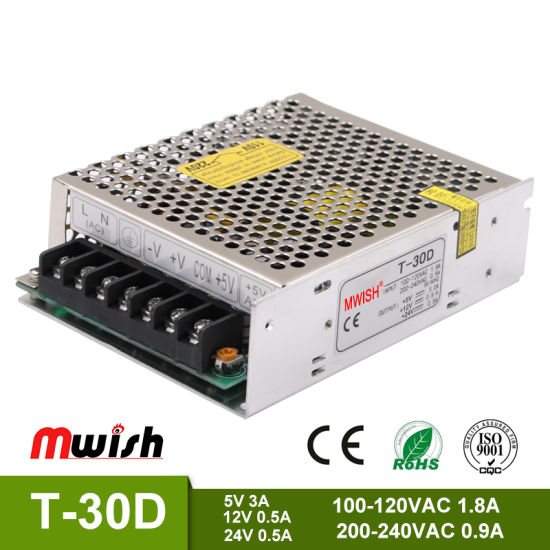China Manufacturer Wholesale Triple-Output SMPS Power Supply