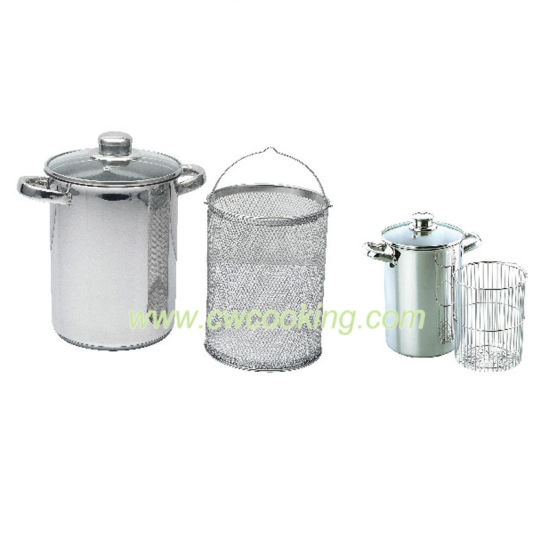 3PCS Stainless Steel Asparagus Pot pictures & photos