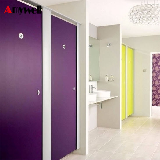 Charmant Amywell Wearproof Formica Sheets Toilet Cubicles HPL Used Bathroom  Partitions