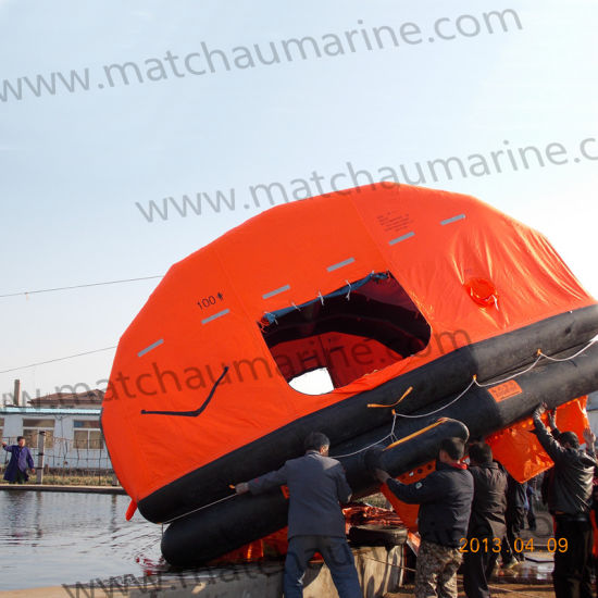 Solas Regulation Self-Righting Davit-Launching Inflatable Liferaft pictures & photos