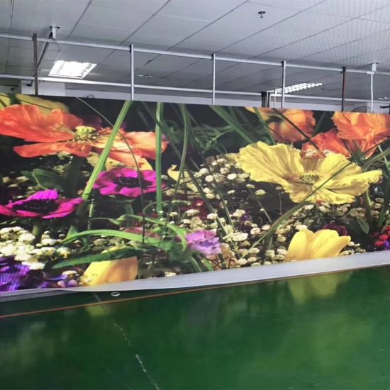 Indoor LED P4 P4.81 Pixel Pitch Display Big Advertising Screen Panel Video Wall