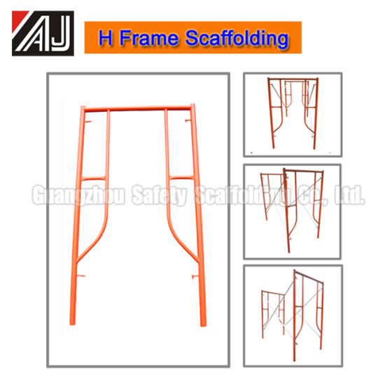 Q235 Steel Frame Scaffolding, Guangzhou Factory pictures & photos