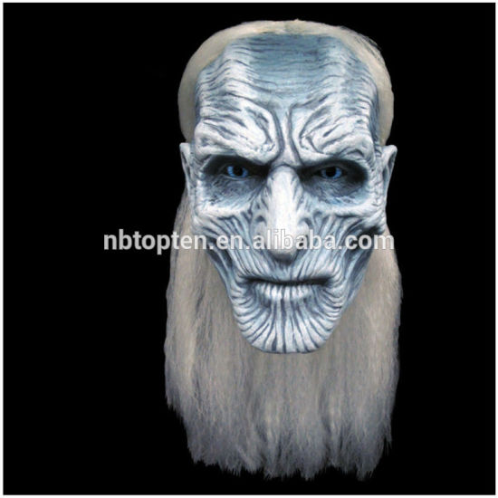 Uhc Game of Thrones White Walker Adult Horror Theme Party Halloween Costume Latex Mask & China Uhc Game of Thrones White Walker Adult Horror Theme Party ...