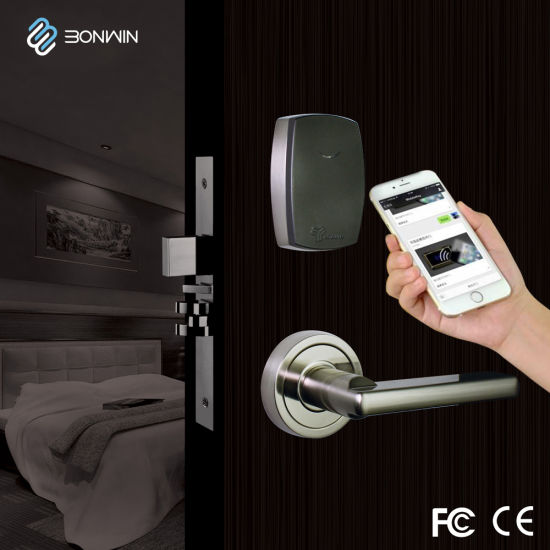 Security TCP/IP Wireless Network Electronic Hotel Door Lock System