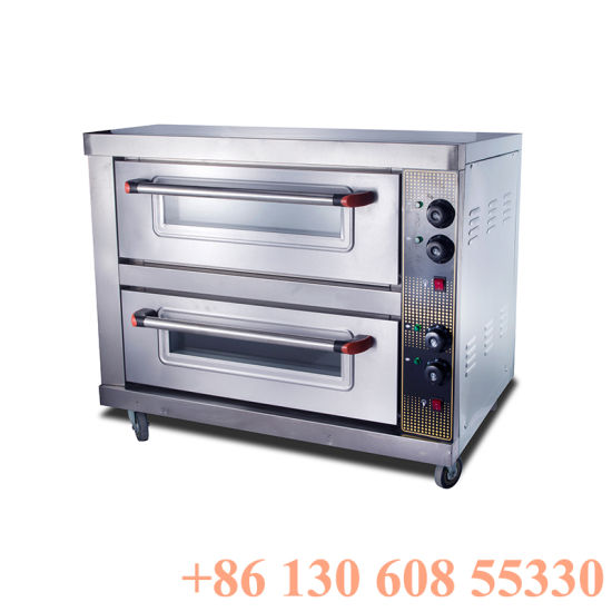 Best Electric 2layers 2trays Commercial Cake Oven Machine for Baking