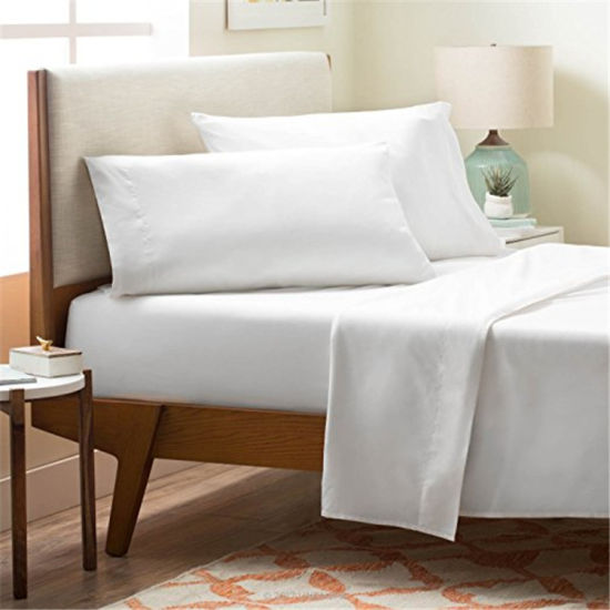 Customzied Nice Pvc Packaging Egyptian Cotton Quality Microfiber Fabric Bed Sheet Pictures Photos