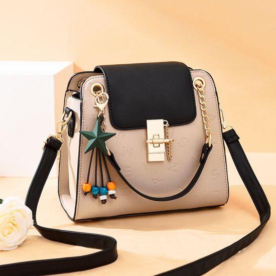 Btl10263 Personalized Female Girl Bag Small Lock Leather Single Shoulder Handbag