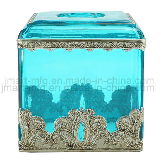 Metallic Hand Paint Super Clear Polyresin Bathroom Accessory for Wholesale pictures & photos