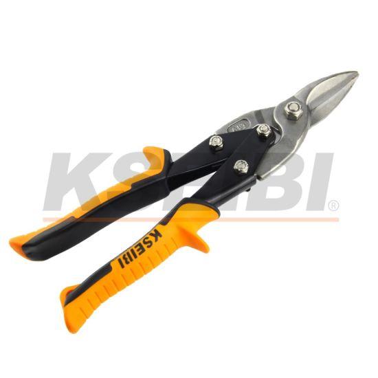 250mm 10inch Straight Cut Aviation Snips Metal Plastic Cutting Scissors Pliers