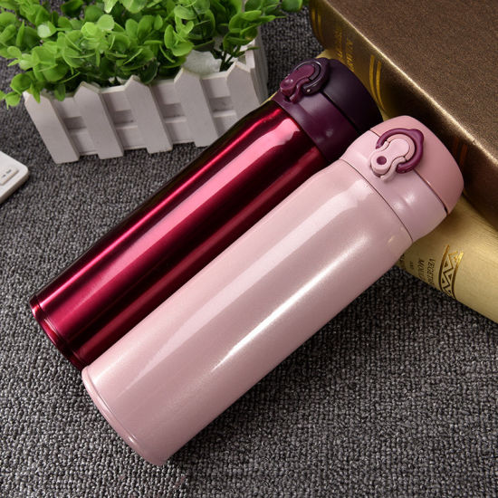 500ml Double Wall Stainless Steel Vacuum Flask Thermos Coffee Mug pictures & photos