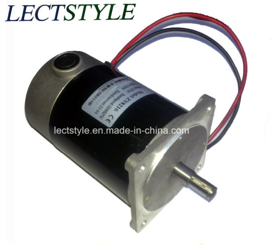 Permanent Magnet DC Motor for Aquatic Mower and Power Tool