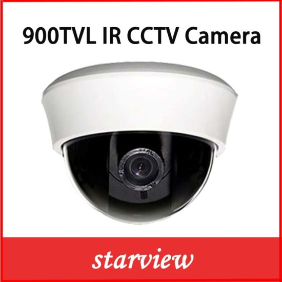 900tvl CMOS IR Varifocal Plastic Dome CCTV Security Camera pictures & photos
