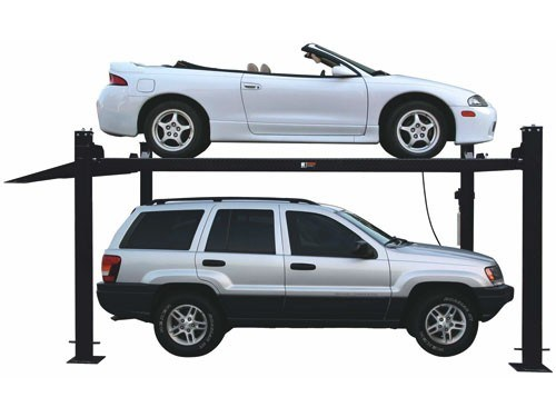 3.7t Four Post Hydraulic Car Parking Lift