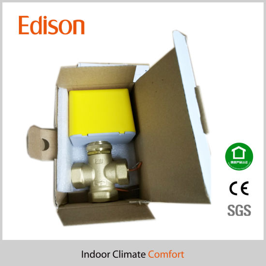 Motorized Valve Three Ways Dn20 Pn10 with Ce Certificate (KLV-203-20B) pictures & photos