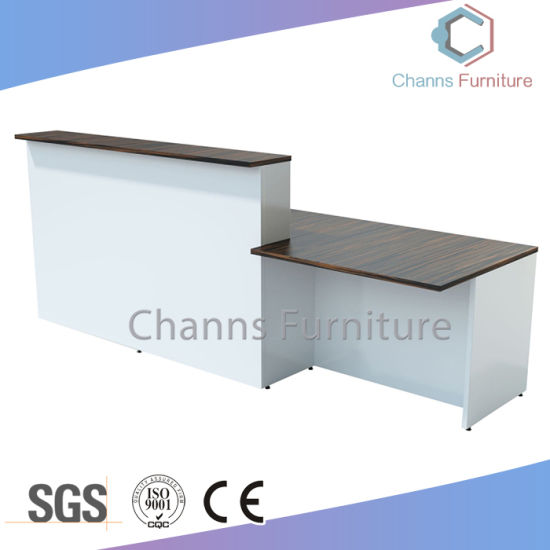Modern Furniture Big Size Reception Desk Wooden Office Table Cas Rd5402