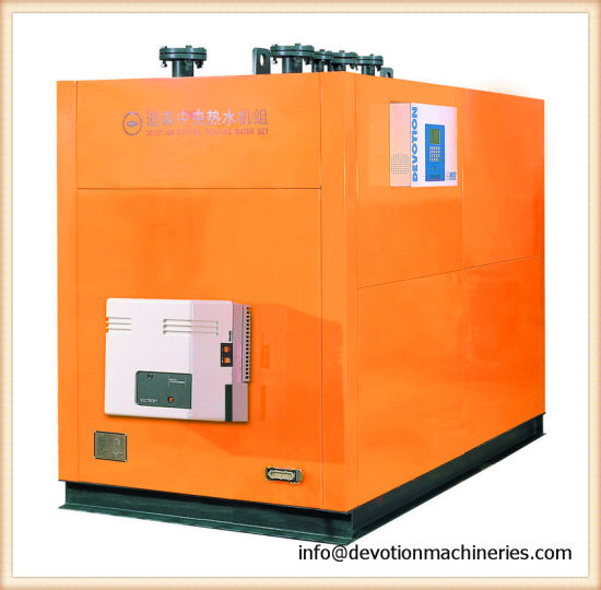 China High-Tech 930kw Hot Water Boiler with Copper Heat Exchanger ...