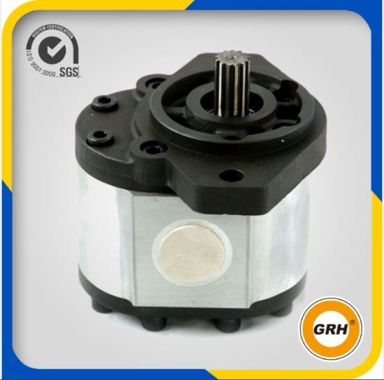 CE Proved Tandem Pump Hydraulic Gear Oil Pump with Cast Iron Cover