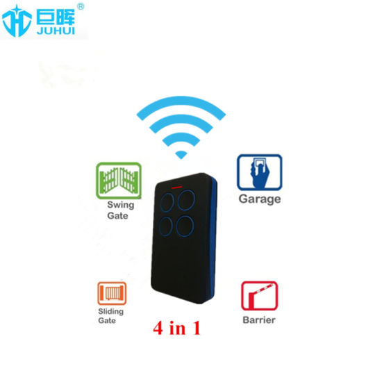 Face to Face Multi-Frequency Remote Control for Garage Door
