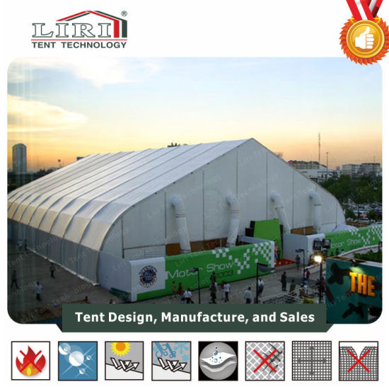 Large Outdoor Curve Roof Aluminum Frame PVC Cover Event Tents for Tradeshow and Exhibition & China Large Outdoor Curve Roof Aluminum Frame PVC Cover Event ...