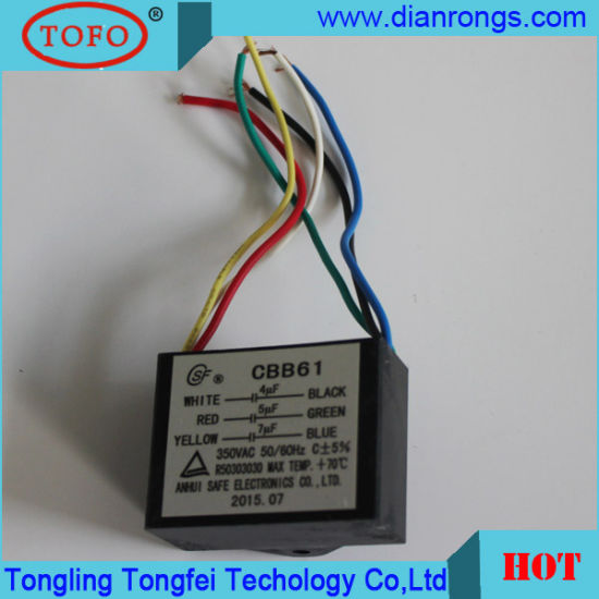 china five wire lead metallized polypropylene film capacitor for rh tofocapacitor en made in china com