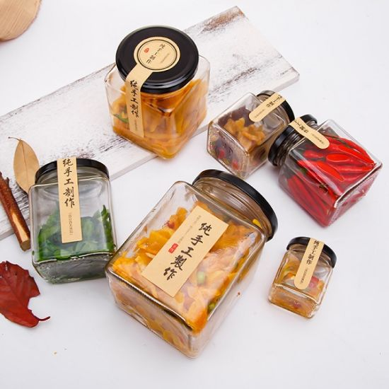 Promotional Jam Jar Honey Jar Storage Glass Bottle pictures & photos