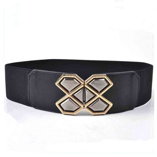Factory Wholesale Fashion Garment Accessories Wide Elastic Belts for Ladies pictures & photos