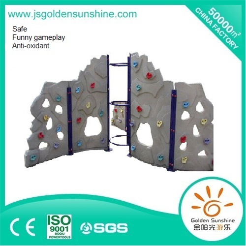 Indoor Playground Children's Plastic Rock Climber with CE/ISO Certificate