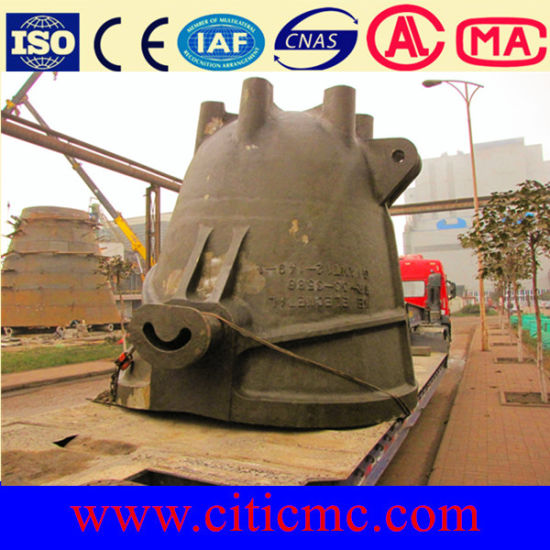 10 -100 T Weight Slag Pots in Cast Steel & Slag Ladle pictures & photos