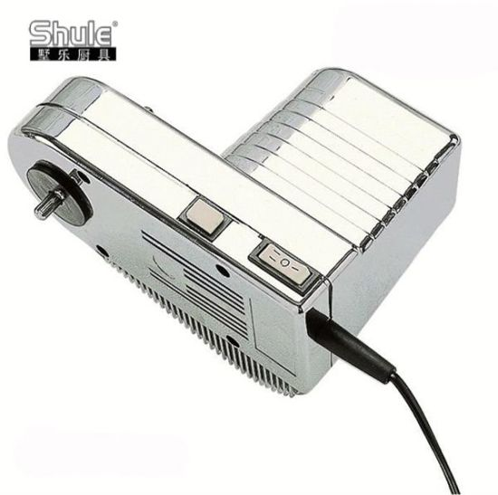 Stainless Steel Detachable Electric Pasta Machine with Motor pictures & photos