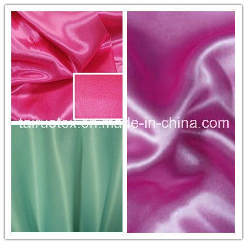 100%Polyester Satin Cheapest for Dress Garment Fabric