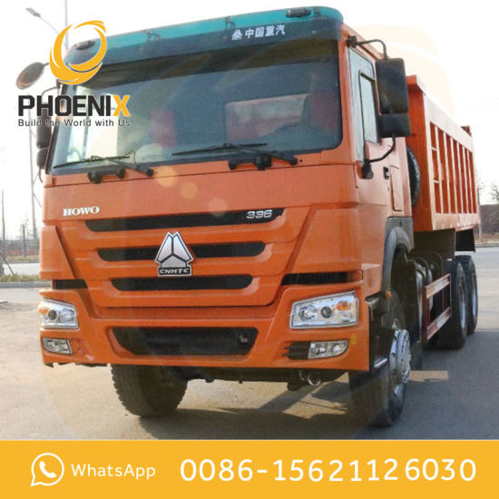 Competitive Price Middle Lifting 10wheels HOWO Used Tipper Truck with Good Condition for Africa Market pictures & photos
