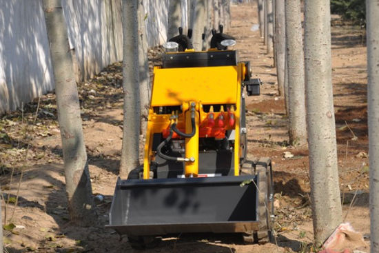 China for Sale Mini Skid Steer Loader with Trencher pictures & photos
