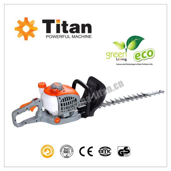 Gasoline 2 Stroke Powerful Dual Blade Hedge Trimmer 23cc Outdoor Gardening