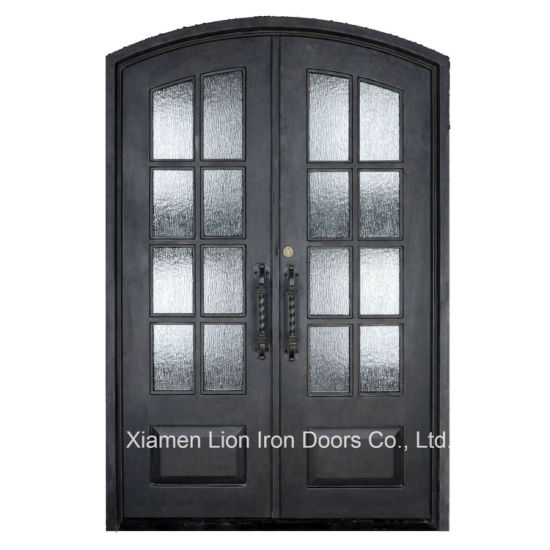 China Modern French Entry Door Wrought Iron Front Door China