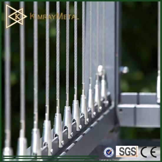Eeay Fit DIY Kits on Stainless Steel Wire Rope Balustrade pictures & photos