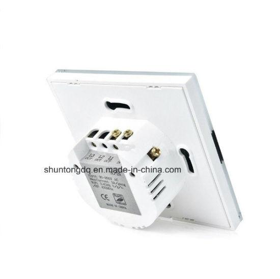 China WiFi Smart Switch EU Type, Works with Echo Alexa