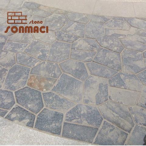 China Natural Slate Flagstone Patio Steps Stone Paver China