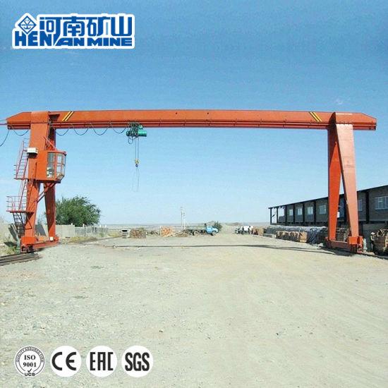 Henan Mine Outdoor High Quality Mobile Single Girder Gantry Crane/Electric Hoist Gantry Crane