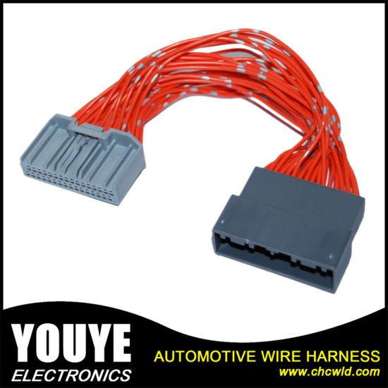 customized 3m round 8 awg flat cable wire harness pictures & photos