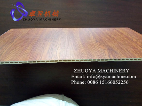Household Wall Decoration Panel with Wood Grain Machinery pictures & photos