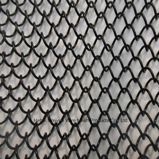 China 48 24 Inch Chain Link Curtain Screen Mesh Panels For